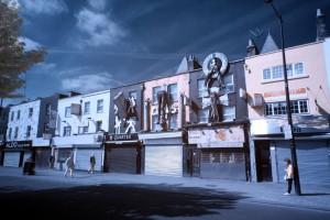 Camden Town am frühen Morgen