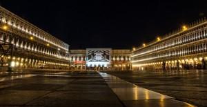 Piazza San Marco bei Nacht