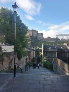 Blick aufs Castle